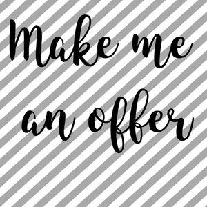 Make me an offer 🛍